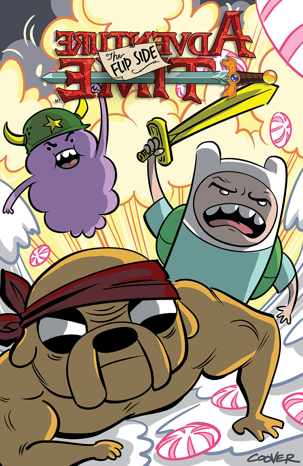 Adventure Time: The Flip Side Issue 4.