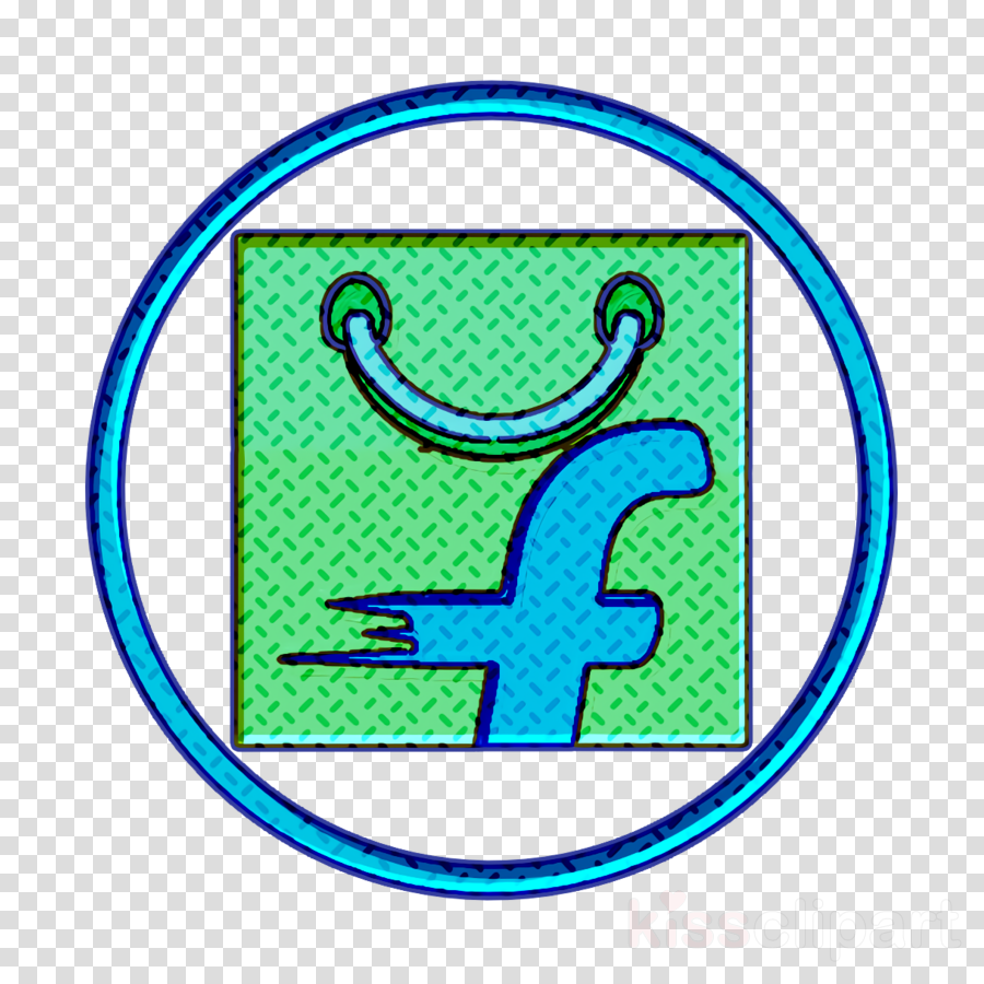 ecommerce icon flipkart icon shopping icon clipart.