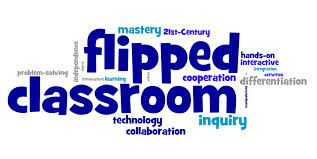 Flipped classroom clipart.
