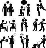 Flirting clipart #8