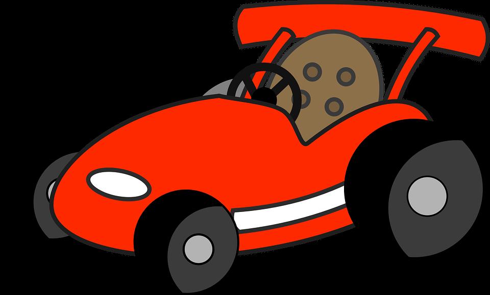 Free vector graphic: Car, Driving, Fun, Kart, Racing.