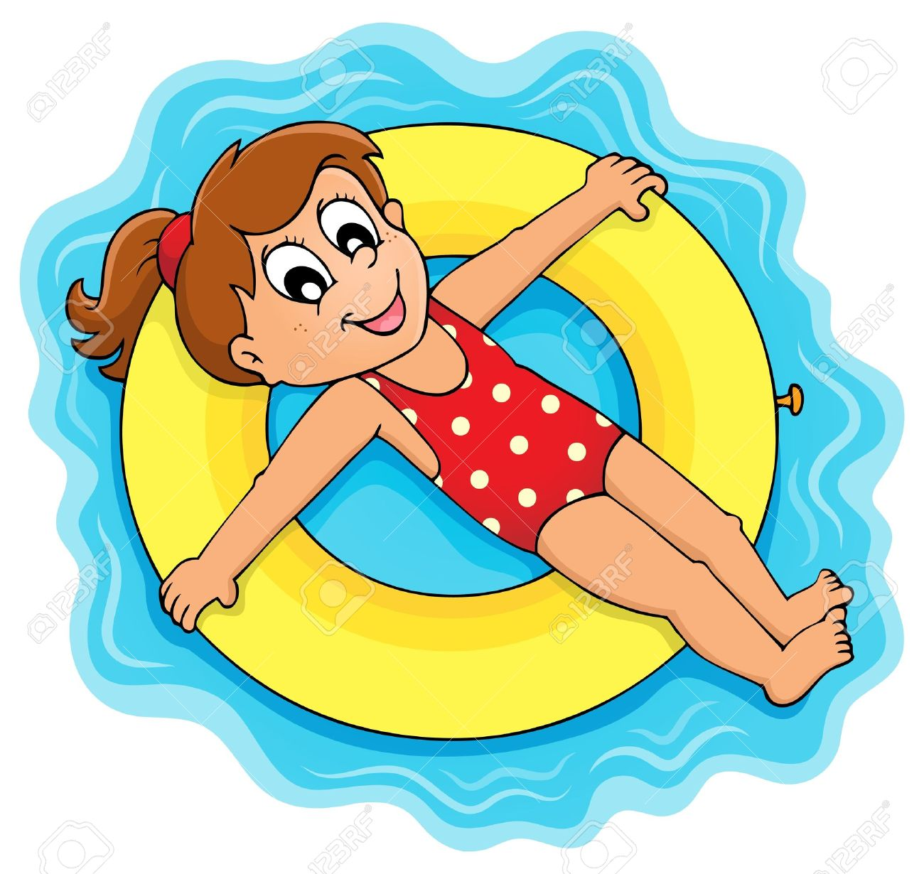 Float on water clipart.