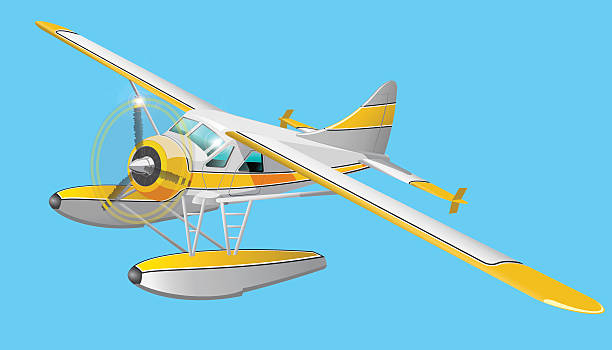 Best Seaplane Illustrations, Royalty.