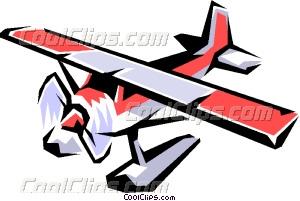 Floatplane Vector Clip art.
