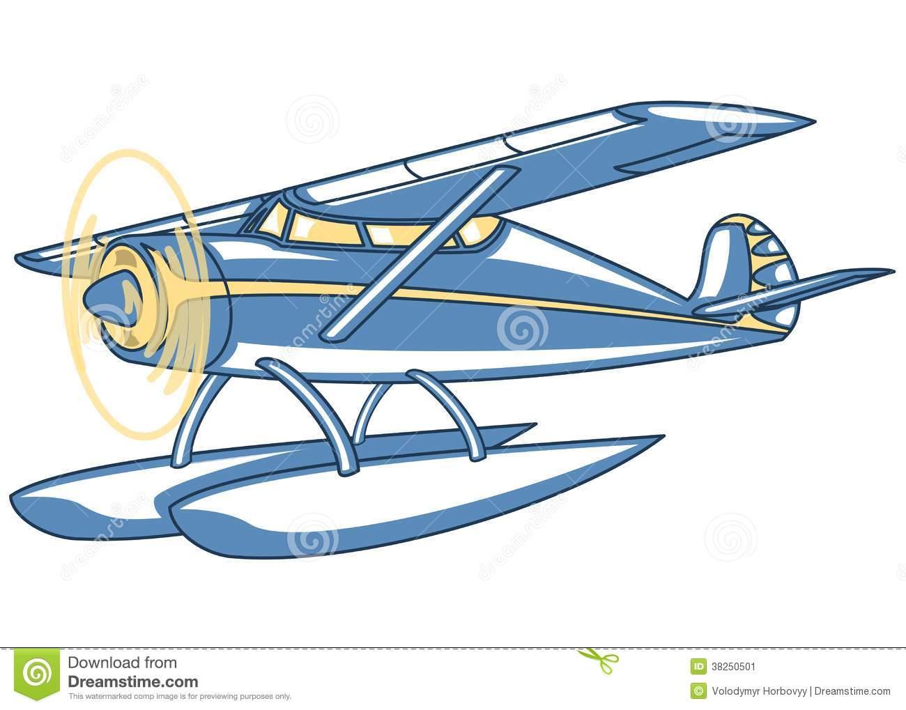 Float plane clip art.