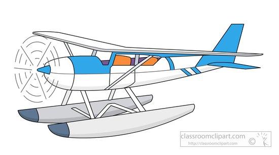 Aircraft : floatplane.