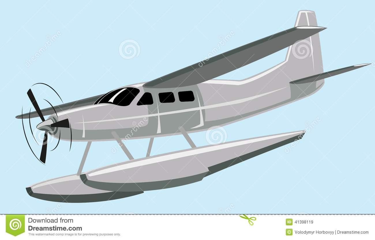 Seaplane Stock Image.