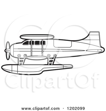 Floatplanes clipart #3