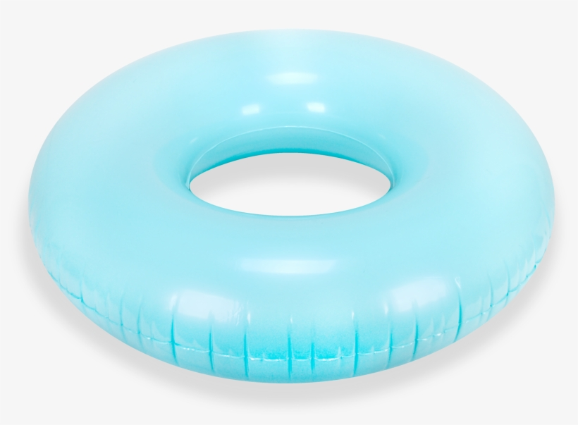 Turquoise Round Tube Pool Float.