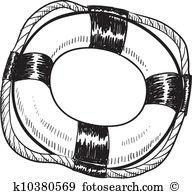 Flotation device Clipart Royalty Free. 46 flotation device clip.