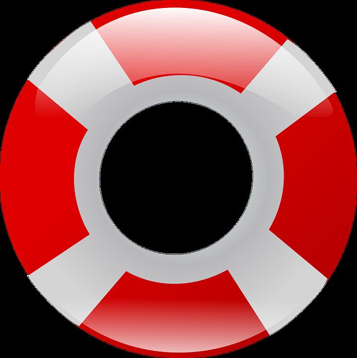 Free photo Lifesaver Life Preserver Life Ring Flotation Device.