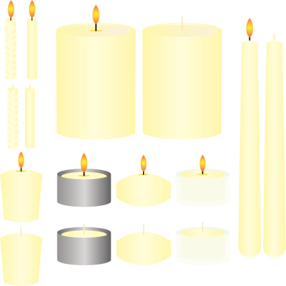 Floating Candles Clip Art, Vector Images & Illustrations.