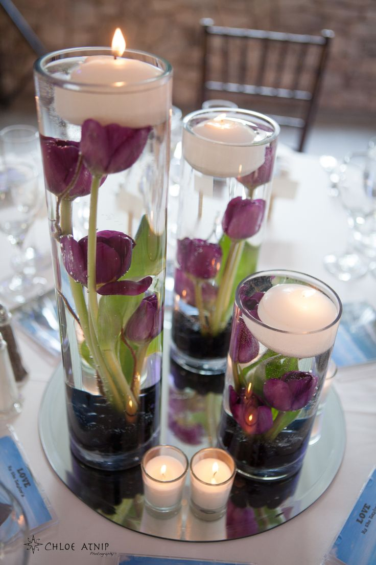 Decorative Wedding Floating Candle Ideas.