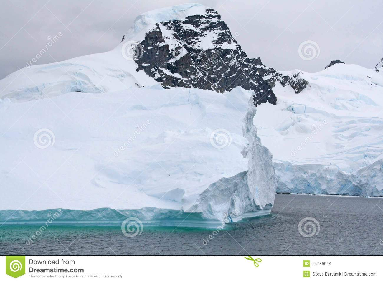 Floating Iceberg Clipart.