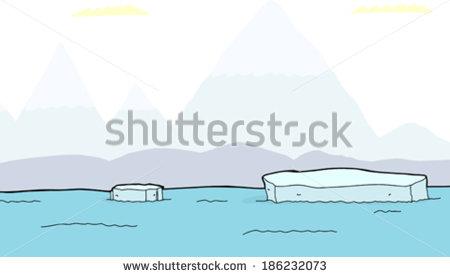 A Piece Of The Iceberg Stock Vectors & Vector Clip Art.