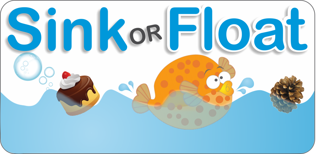 Floating and sinking clipart.