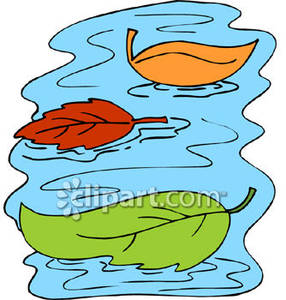 Floating On Water Clipart.