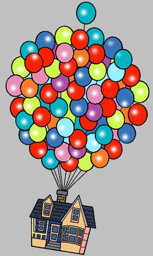 up house balloons clip art pixar up.