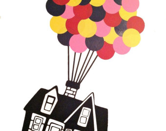 House from up clipart.