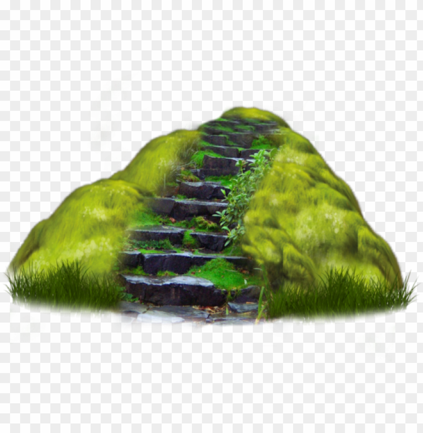 floating island clipart grass.