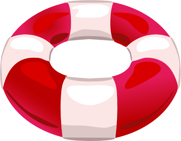 Swimming float clipart.