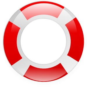 Floating Rings Clipart.