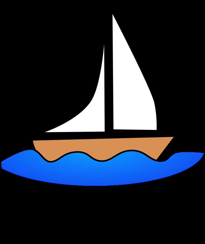 Sail Boat Clipart.