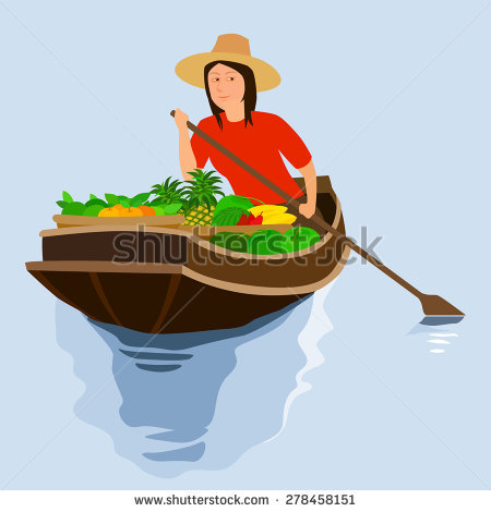 Vector thai floating market free vector download (1,520 Free.