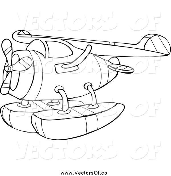 Floatplanes clipart #20