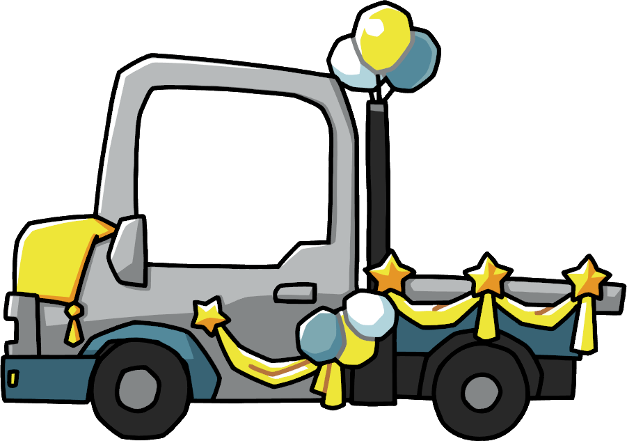 Parade float clipart.