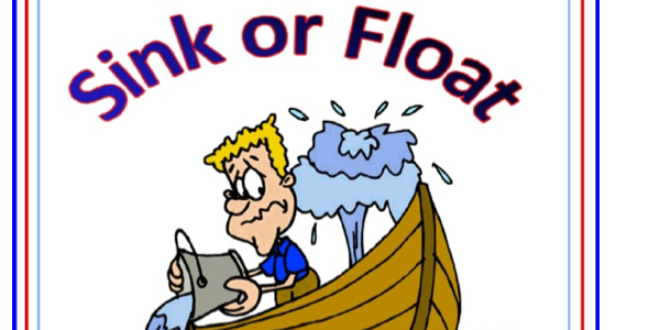 Sink or float clipart.