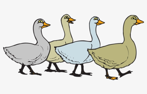 Free Geese Clip Art with No Background.