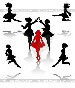 Irish Dancer Clipart.