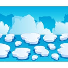 Ice floes clipart #15