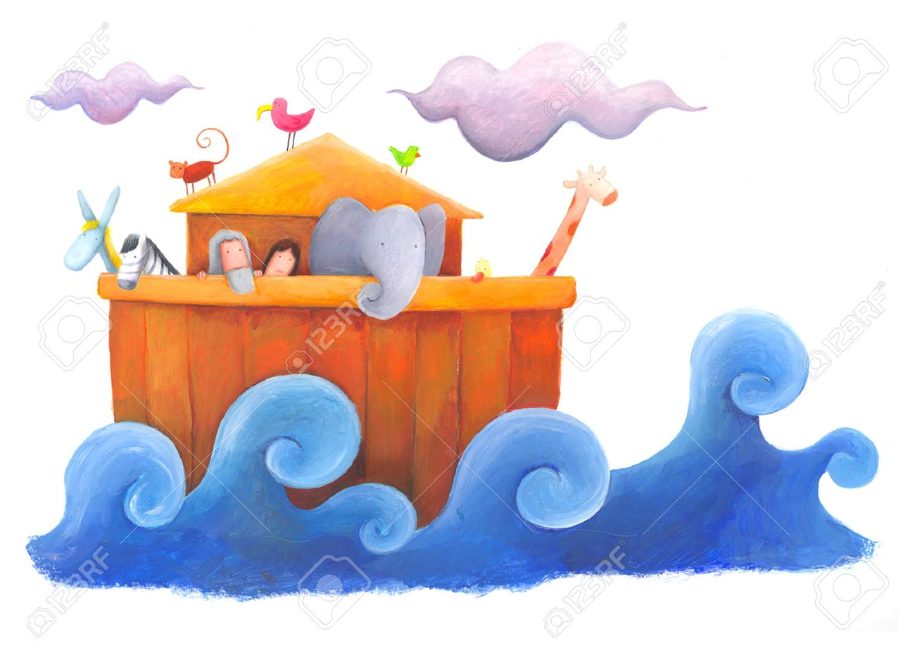 Noah And Flood Stock Photo, Picture And Royalty Free Image. Image.