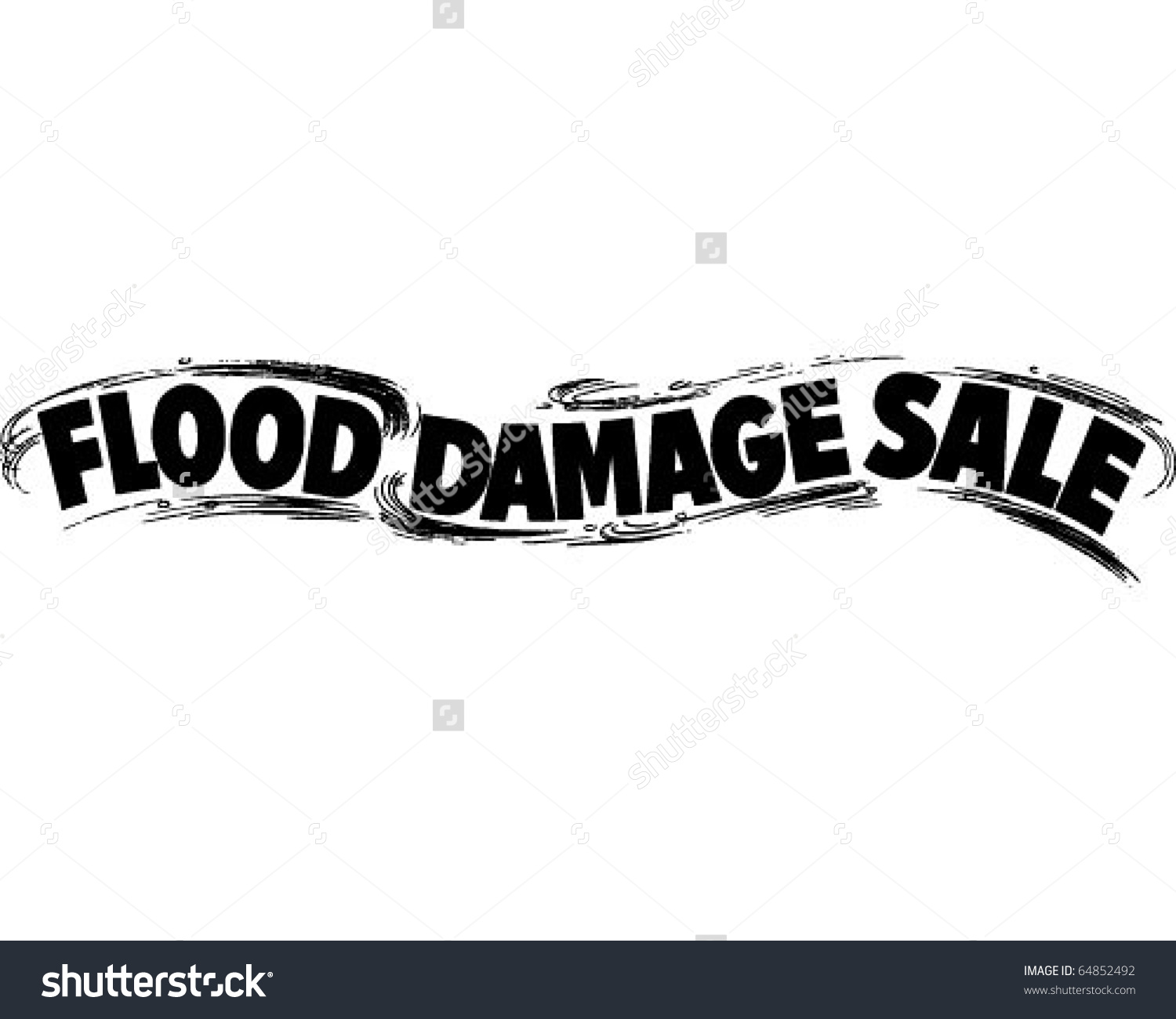 Flood Damage Sale.