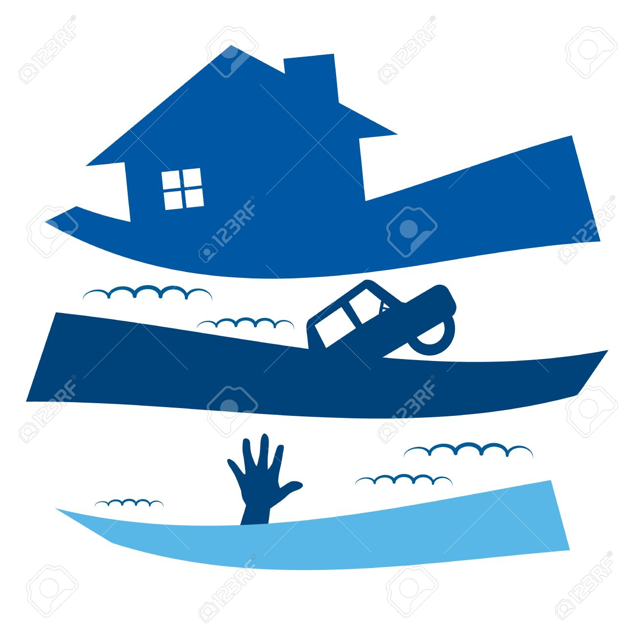 881 Flood Damage Stock Vector Illustration And Royalty Free Flood.
