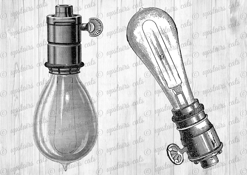 Light bulb images.
