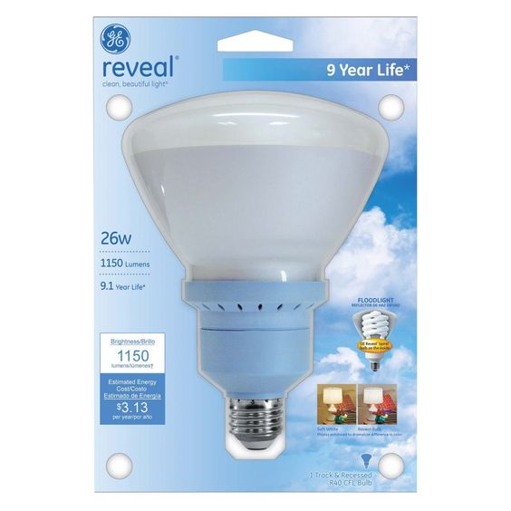 Lighting 26W Indoor Flood Light Bulb.