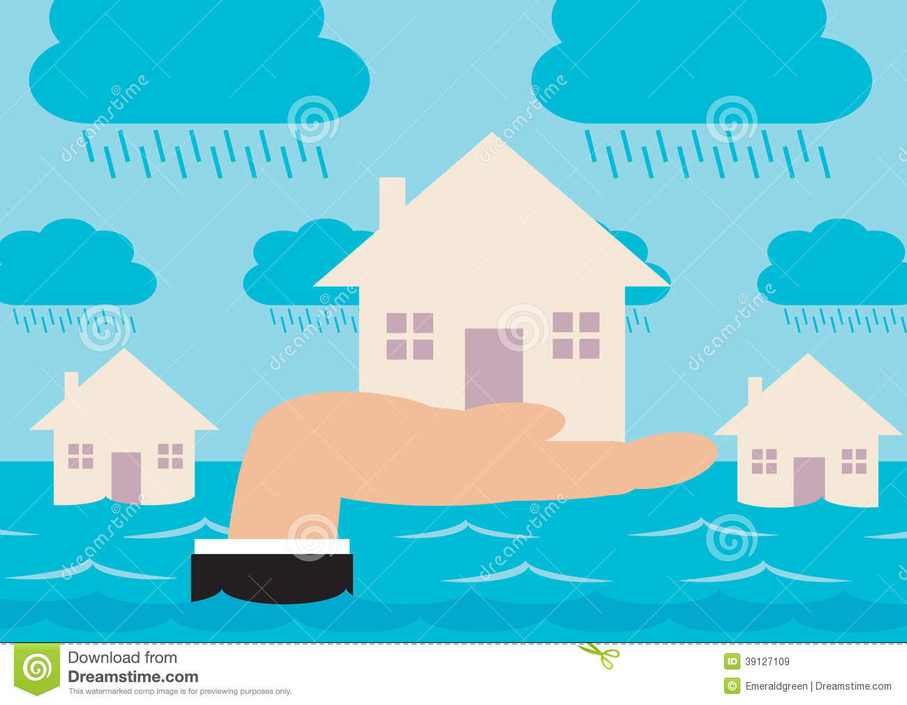 Flood Cartoon Stock Photos, Images, & Pictures.