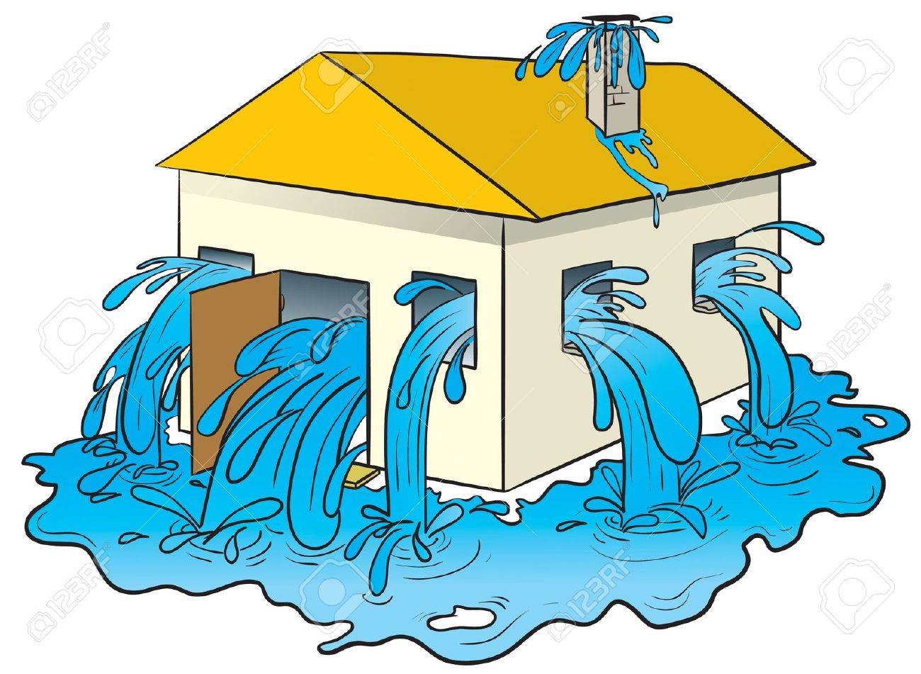 Showing post & media for Flood house cartoon.