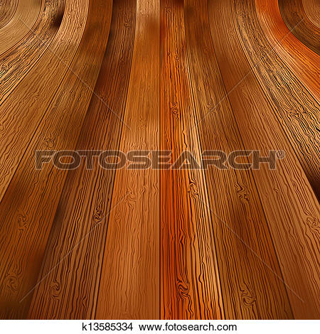 Clipart of Abstract background wooden floor boards. + EPS8.