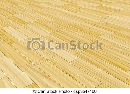 Vector Clipart of wood laminate floor.