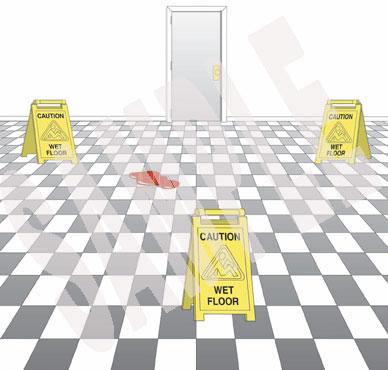 Wet Floor Clipart.