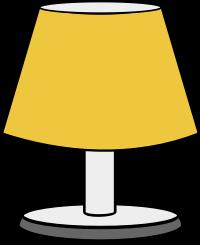 Free to Use & Public Domain Lamp Clip Art.