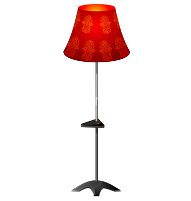Floor Lamp Clipart.
