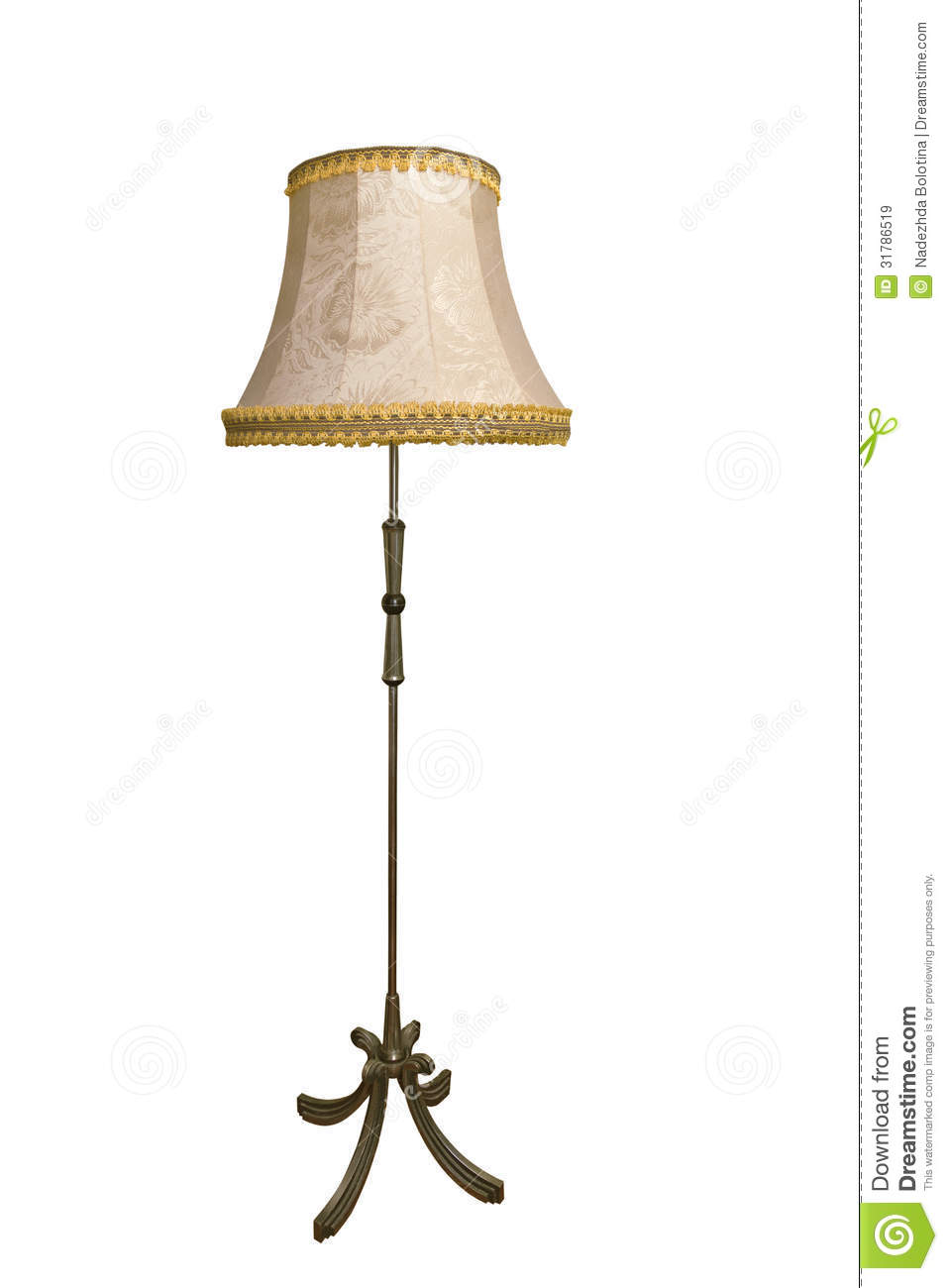Tall Lamp Clipart.