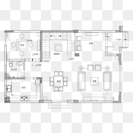 Indoor Floor Plan PNG Images.