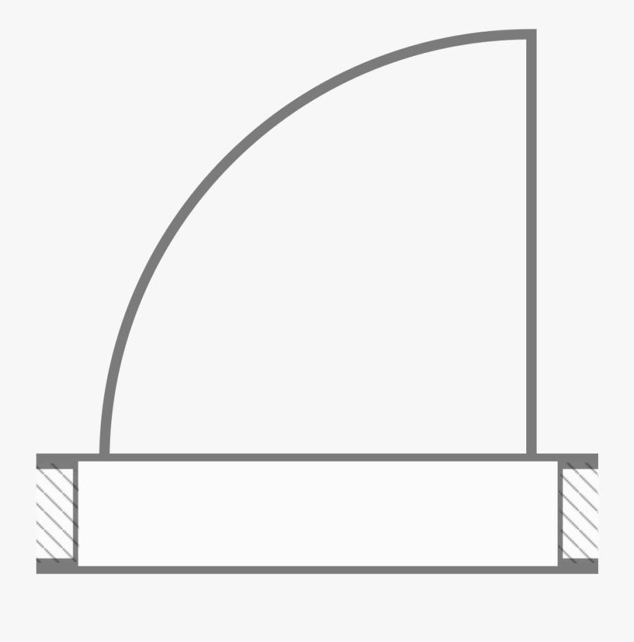 Architectural Floor Plan Door Symbols.