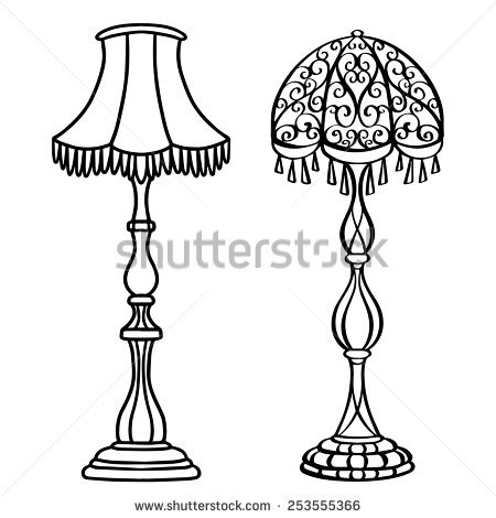 Standing Lamp Stock Photos, Royalty.